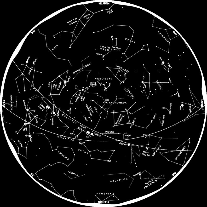 Constellations of the Night Sky: Famous Star Patterns ...