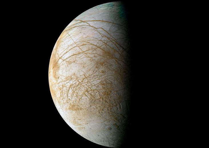 Ocean on Jupiter's Moon Europa Likely Deep Underground
