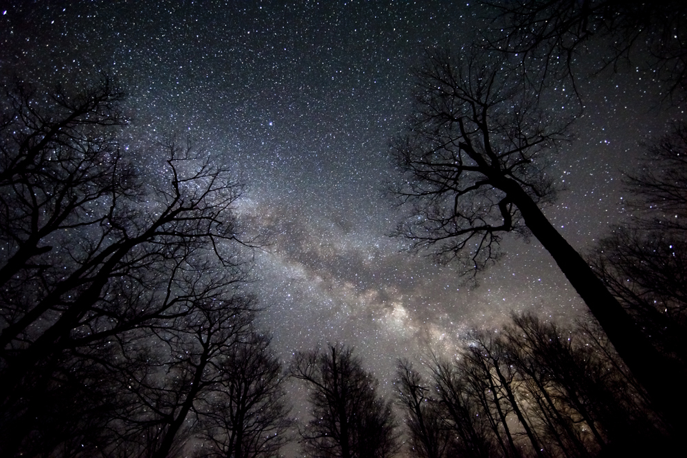 Big Apple's Milky Way Galaxy: When Real Stars Shined Over NYC
