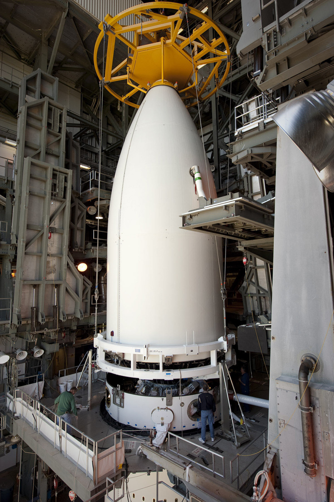 AEHF-2 Satellite Mated to Atlas 5