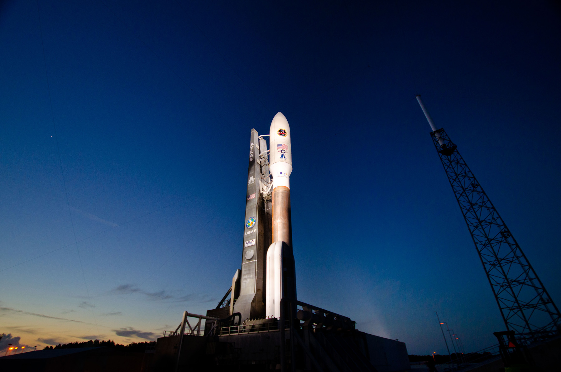US Air Force Satellite Launch Delayed by Glitch