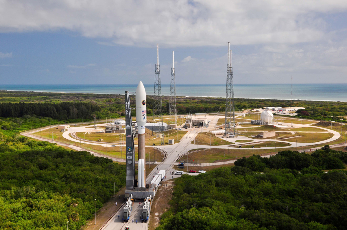 AEHF-2 Satellite Rolls to the Pad #2