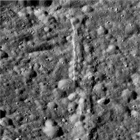 The camera was pointing toward Dione at approximately 8,416 kilometers away, and the image was taken using the CL1 and CL2 filters. This image has not been validated or calibrated. A validated/calibrated image will be archived with the NASA Planetary Data System in 2013.