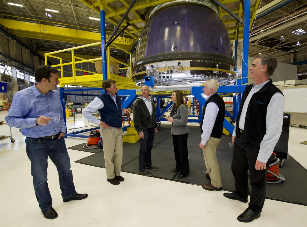 Secretive Blue Origin Reveals New Details of Spacecraft Plans