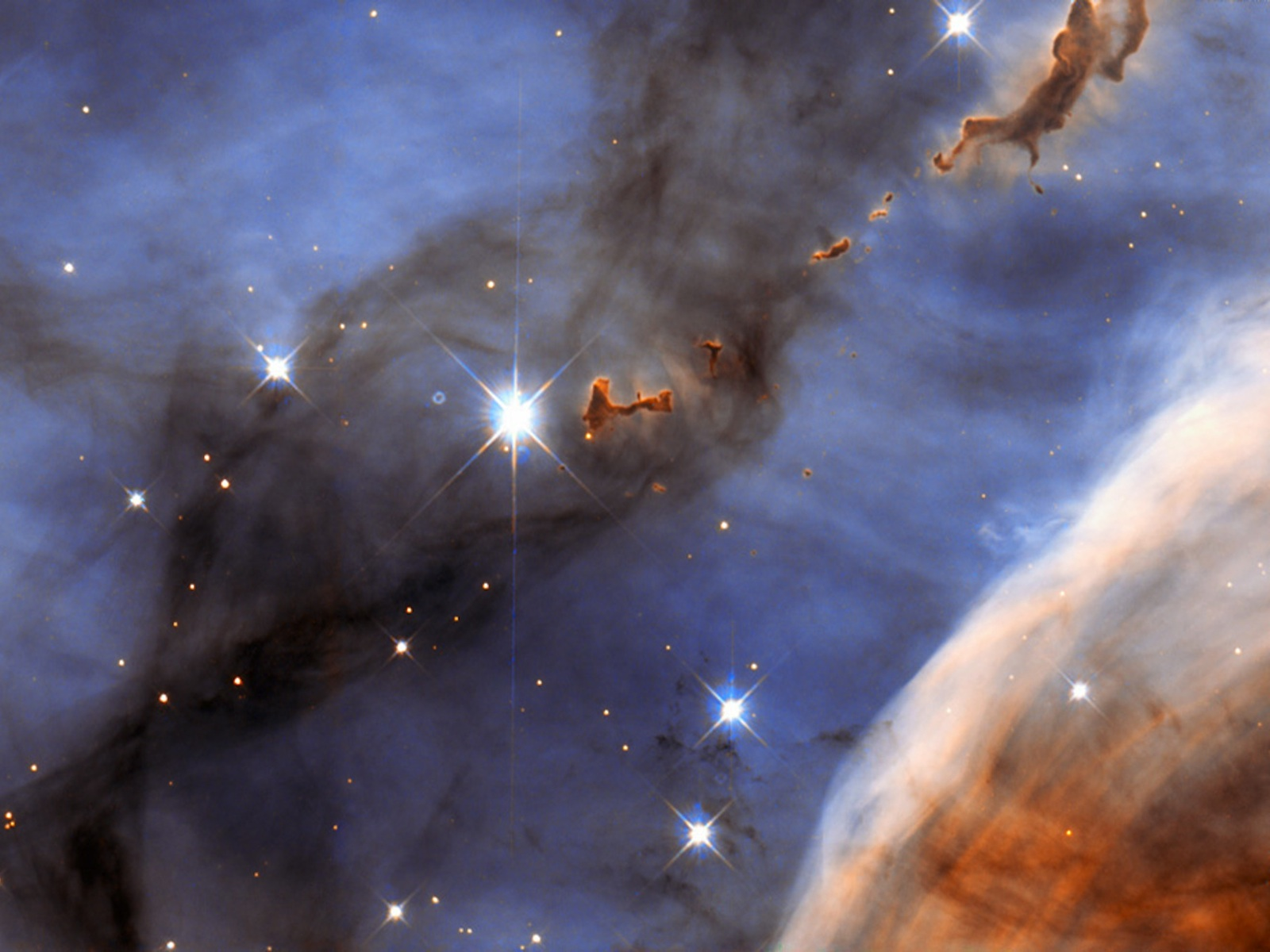 Evaporating Blobs of the Carina Nebula