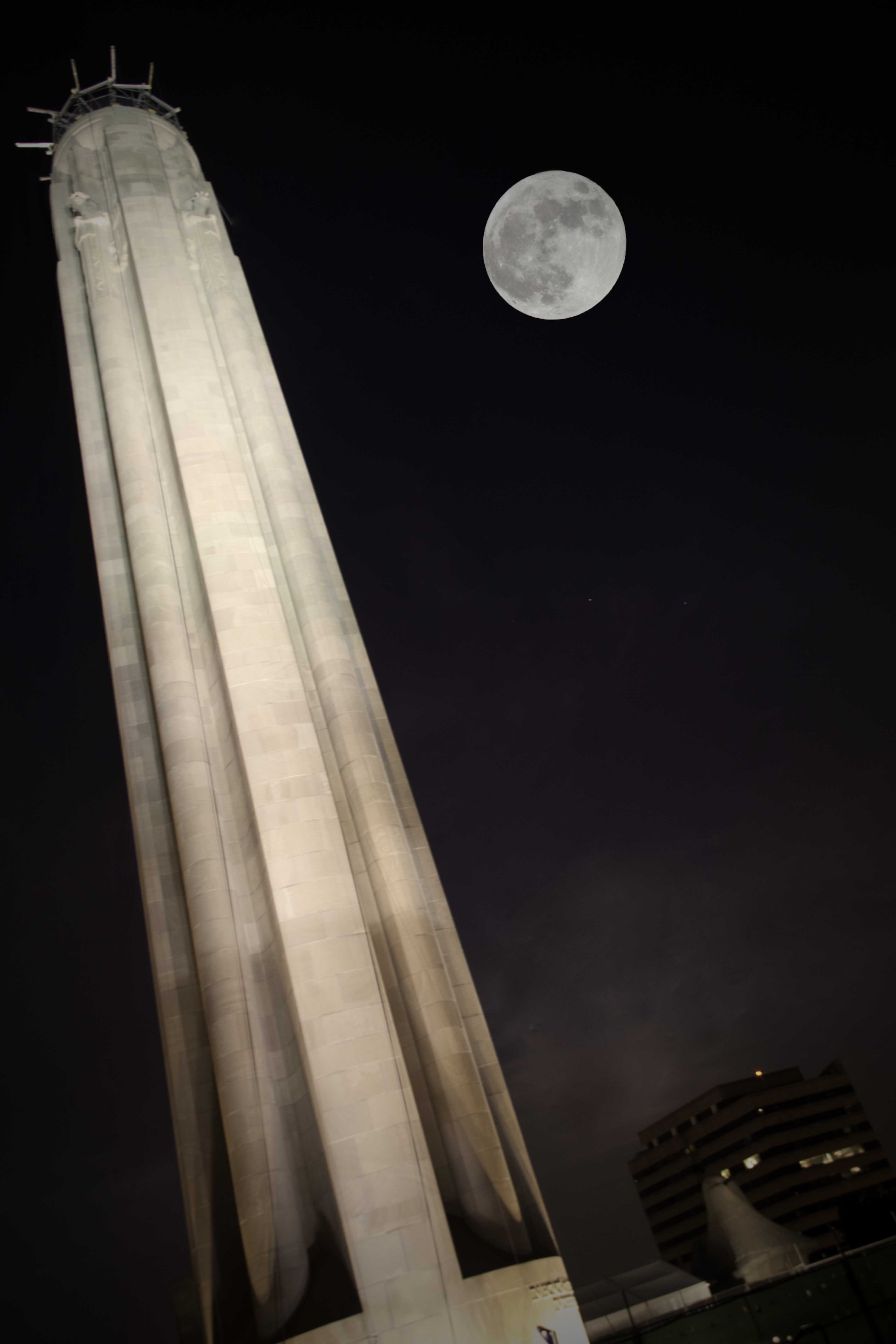 Supermoon 2012 Over Kansas City: Cindy Hiles
