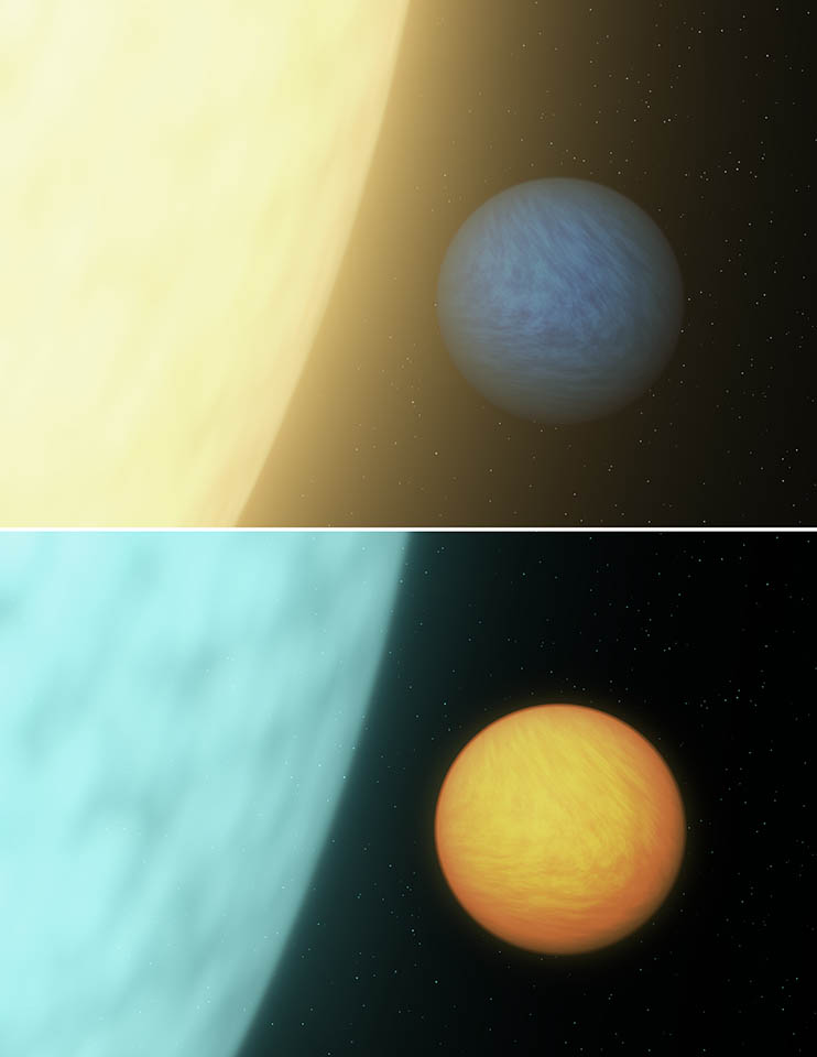 Light Seen From Alien Super-Earth 55 Cancri e