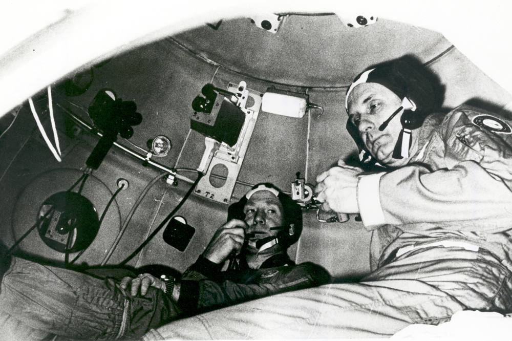 Space History Photo: Apollo-Soyuz Training at Star City