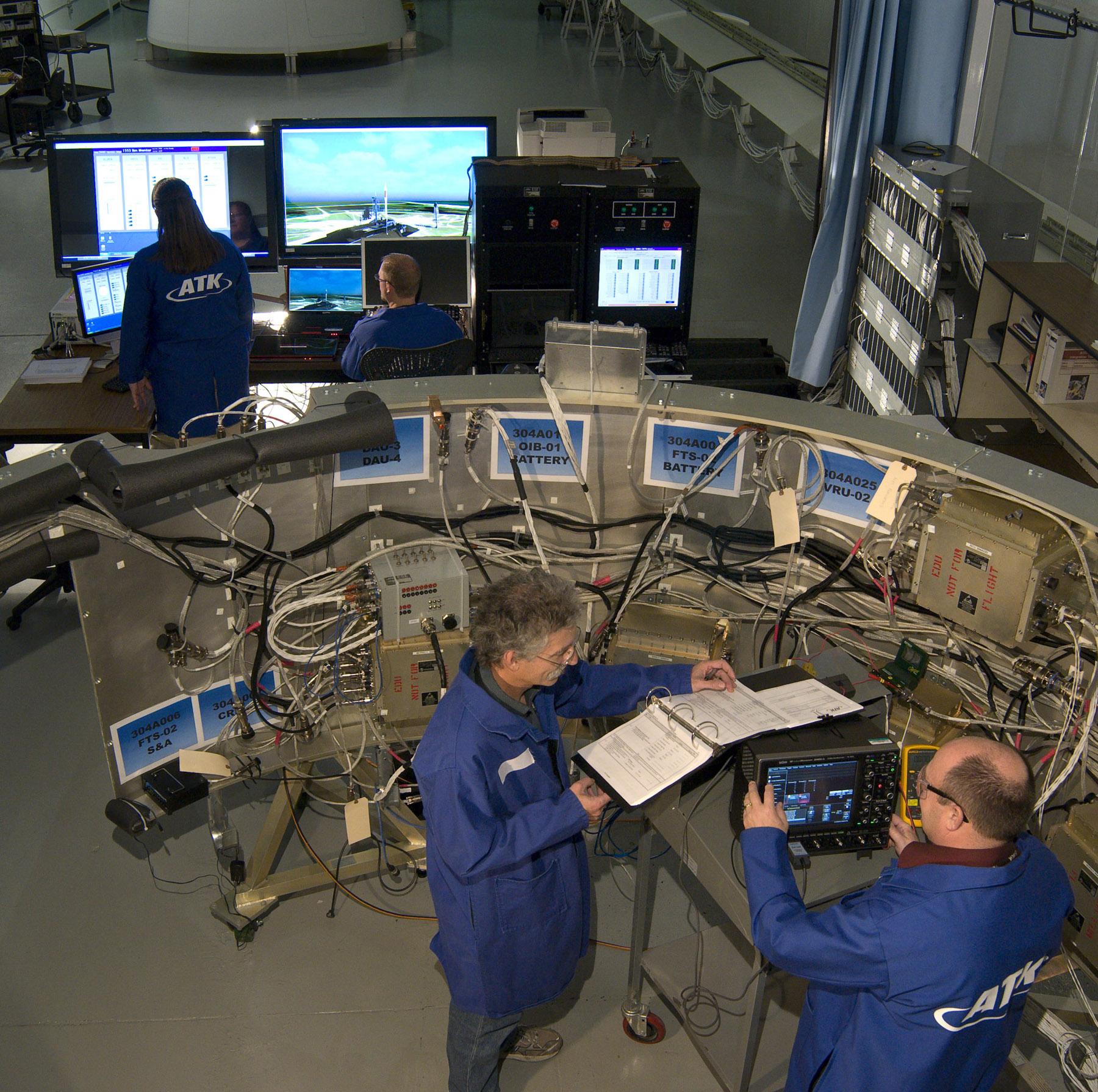 ATK's Liberty Rocket Avionics Lab