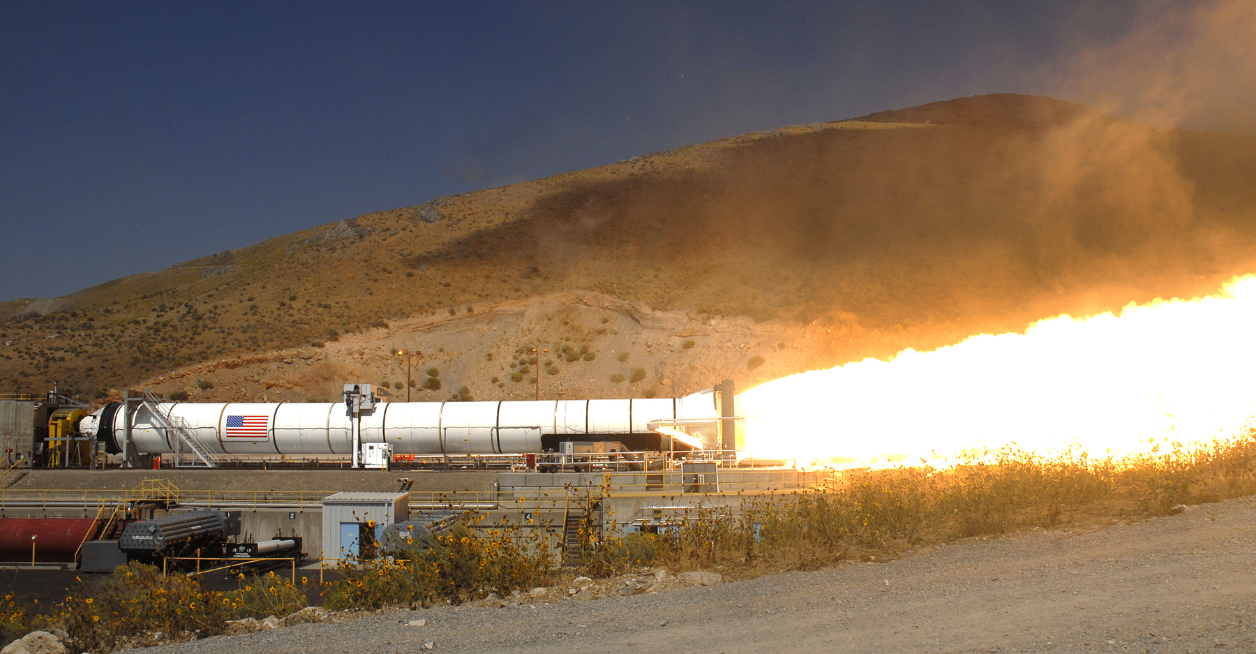 ATK Liberty Rocket Test in DM-3