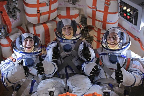 Astronaut Massimino on