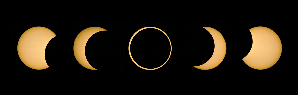 Solar Eclipse, May 10, 1994