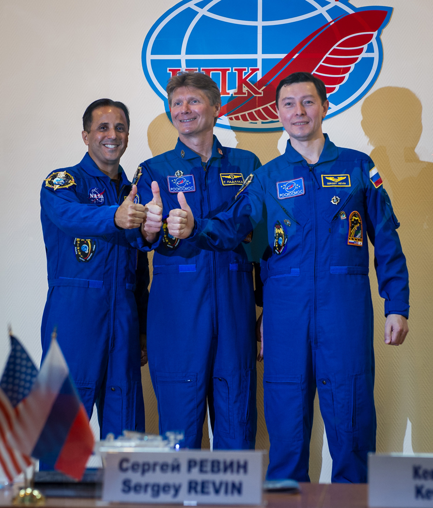 Expedition 31 Crew Press Conference