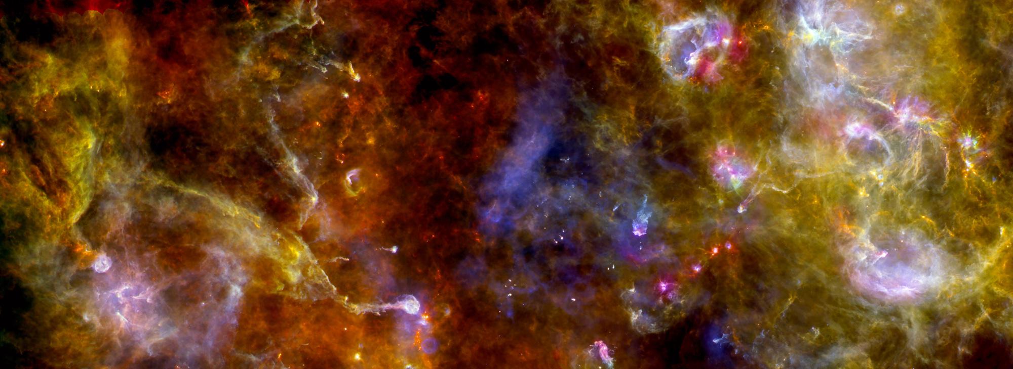Star Factory Blazes Bright in Stunning New Photo