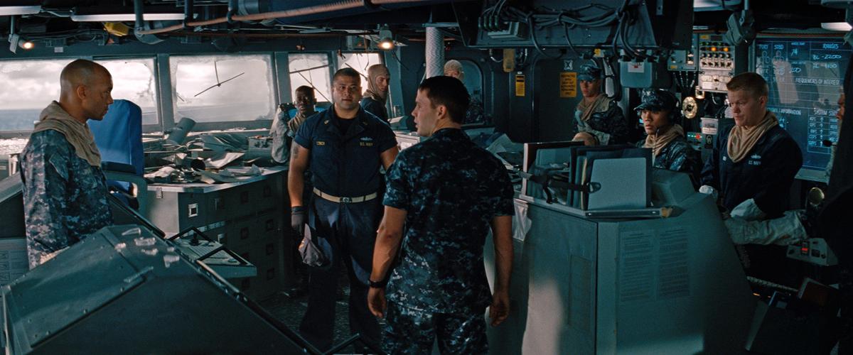 Crewmen Planning Attack in