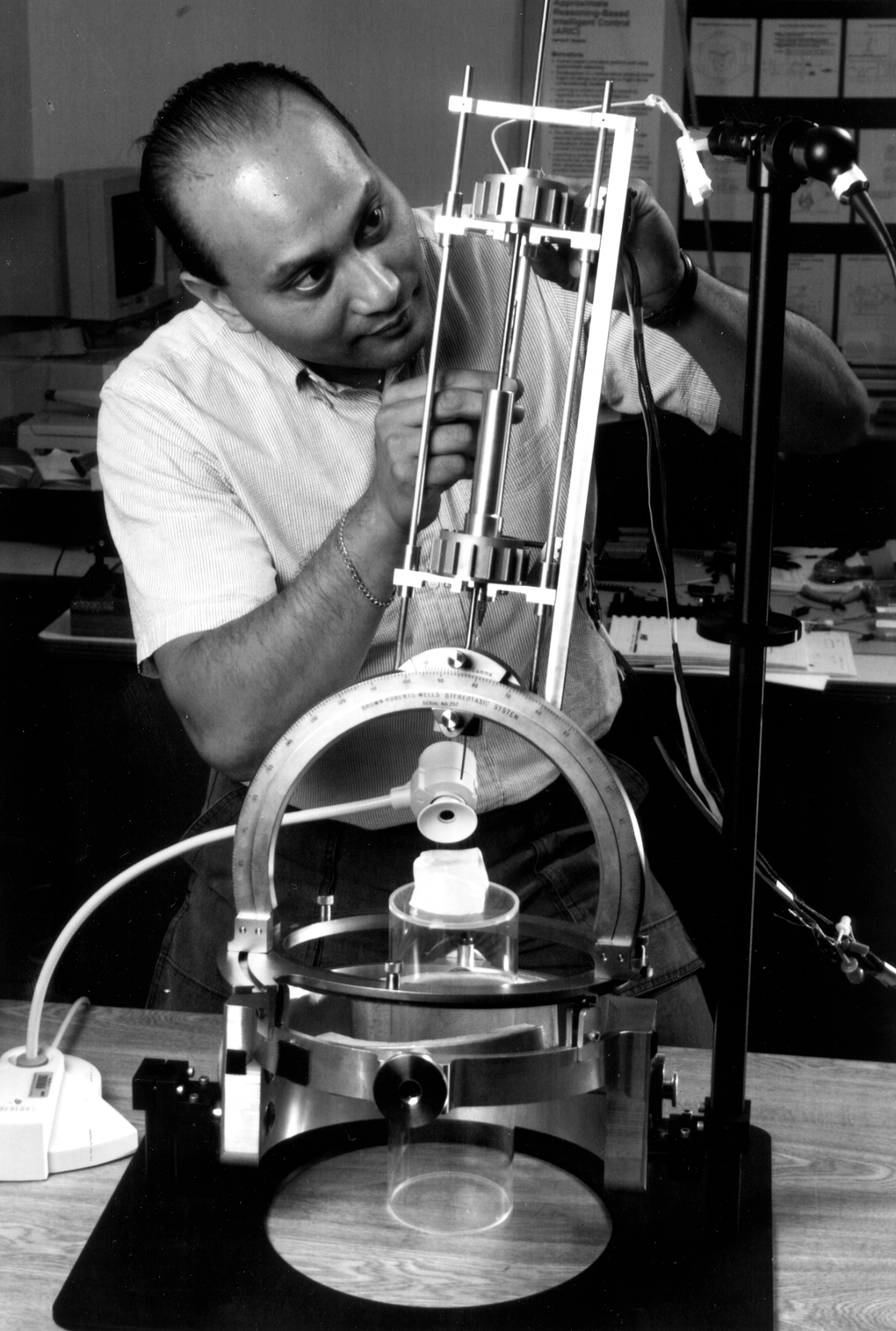 Space History Photo: NASA Robot Brain Surgeon
