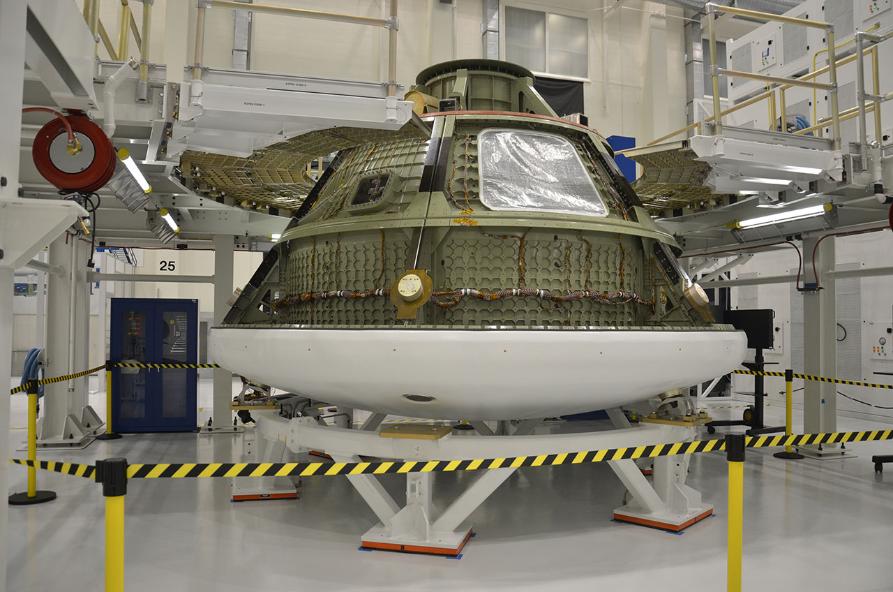 Historic NASA Facility Ready for Deep Space Capsule Prototype