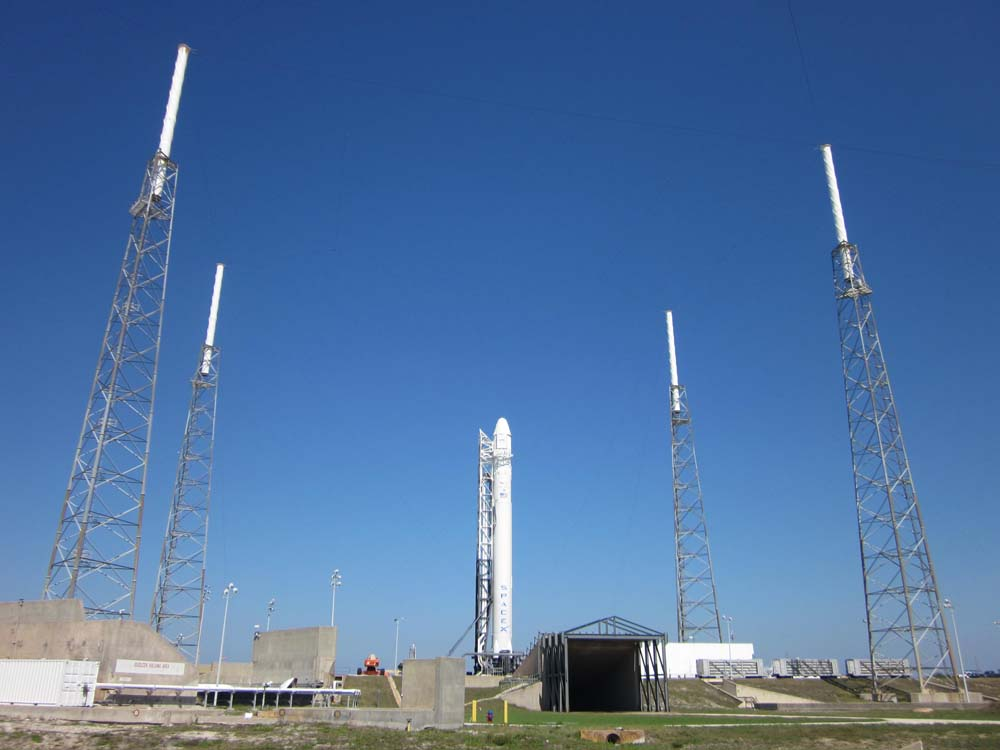 SpaceX Falcon 9 Rocket: T-1 Day