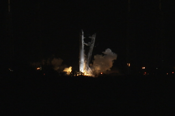 SpaceX Falcon 9 Launch Abort