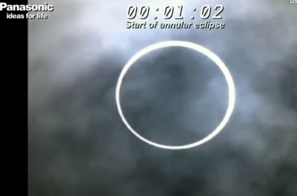 Skywatchers Hot for 'Ring of Fire' Solar Eclipse