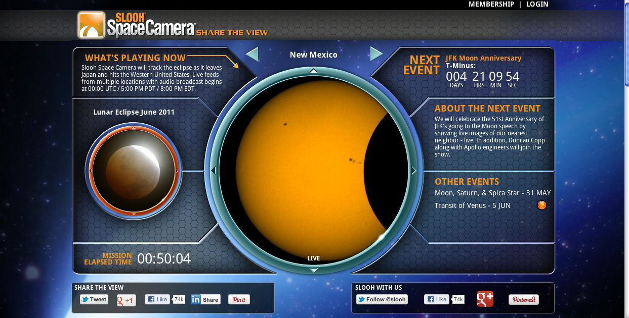 SLOOH Image of Solar Eclipse of May 20, 2012 from New Mexico