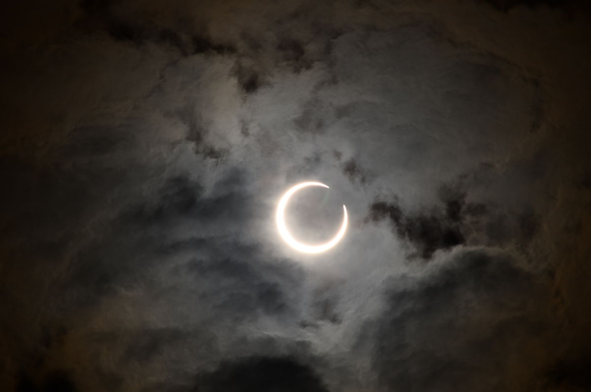 Solar Eclipse of May 20, 2012, over Japan