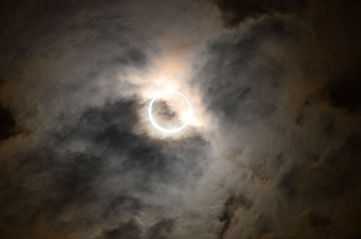 Solar Eclipse of May 20, 2012, over Japan #2