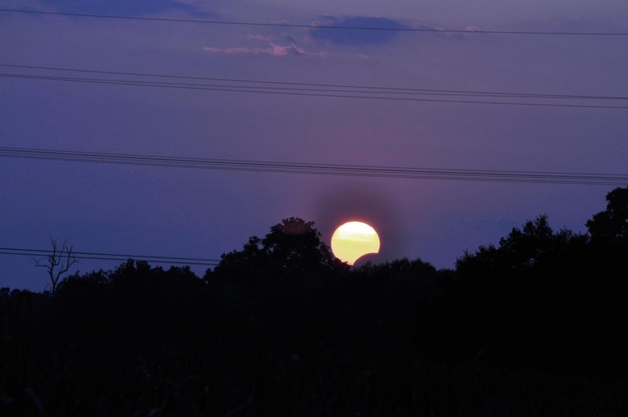 Solar Eclipse May 20, 2012 - Derek Meche