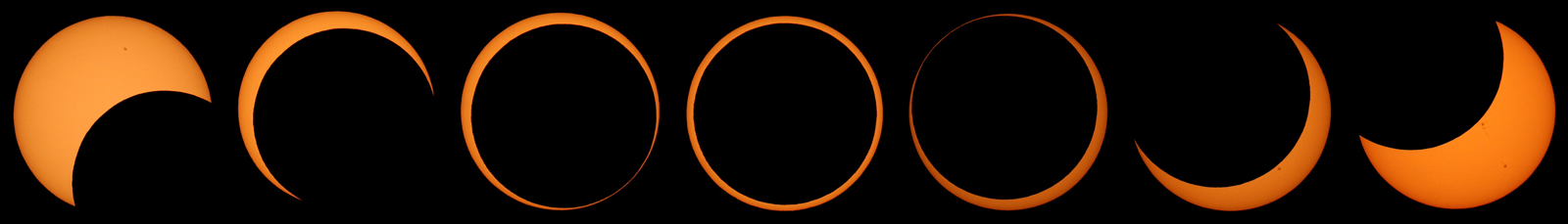 Annular Eclipse Sequence 2012