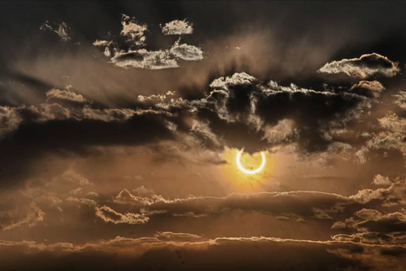 A Spectacular Eclipse