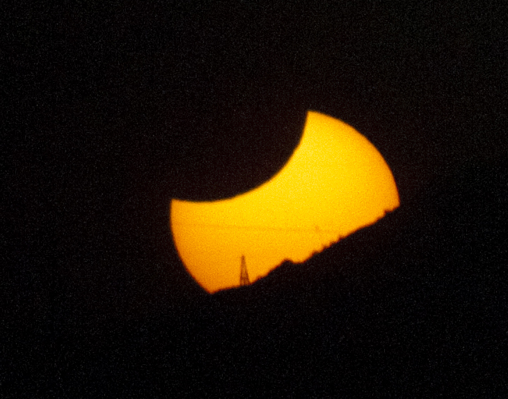 Eclipse from Westwing Mountain