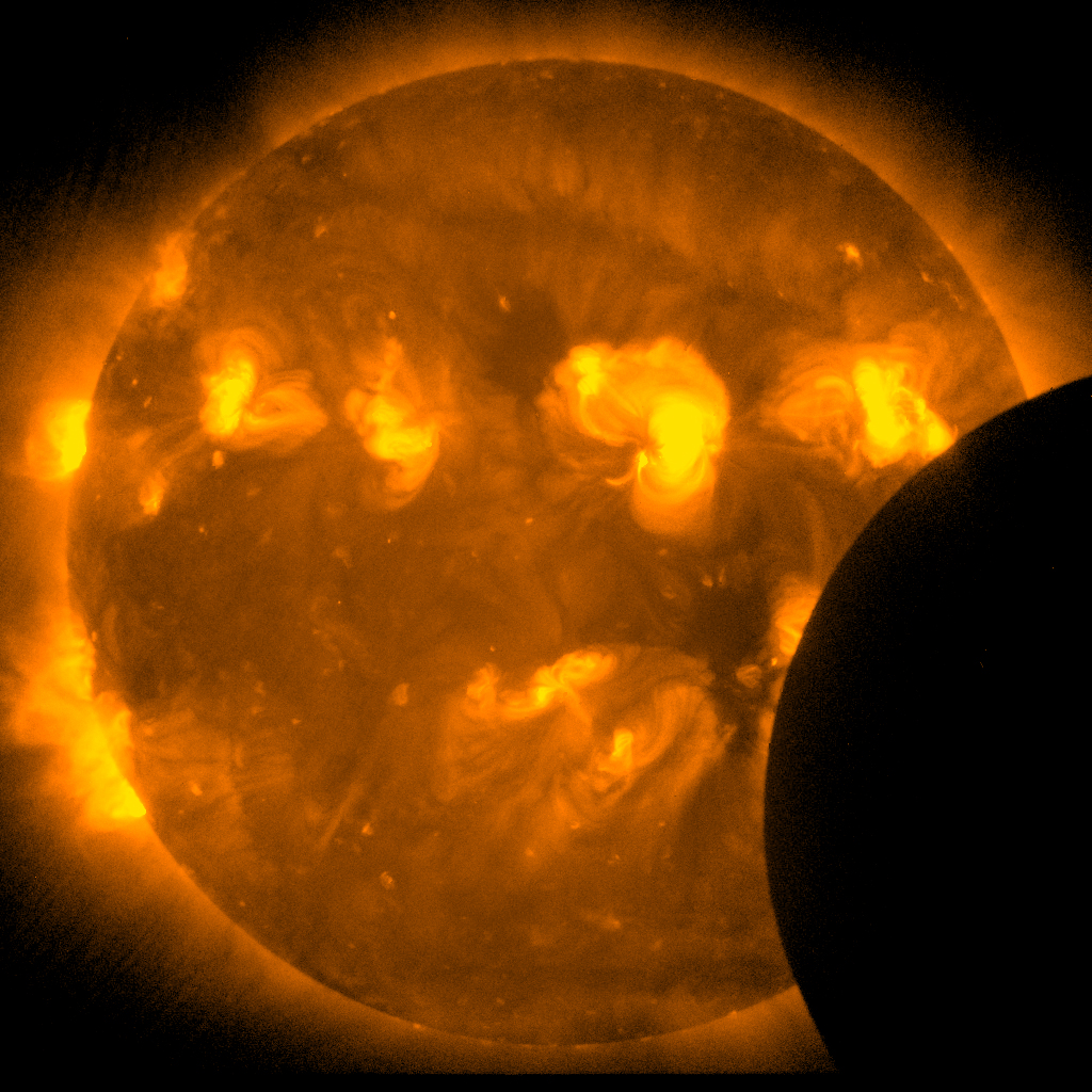 Annular Solar Eclipse - Hinode Satellite