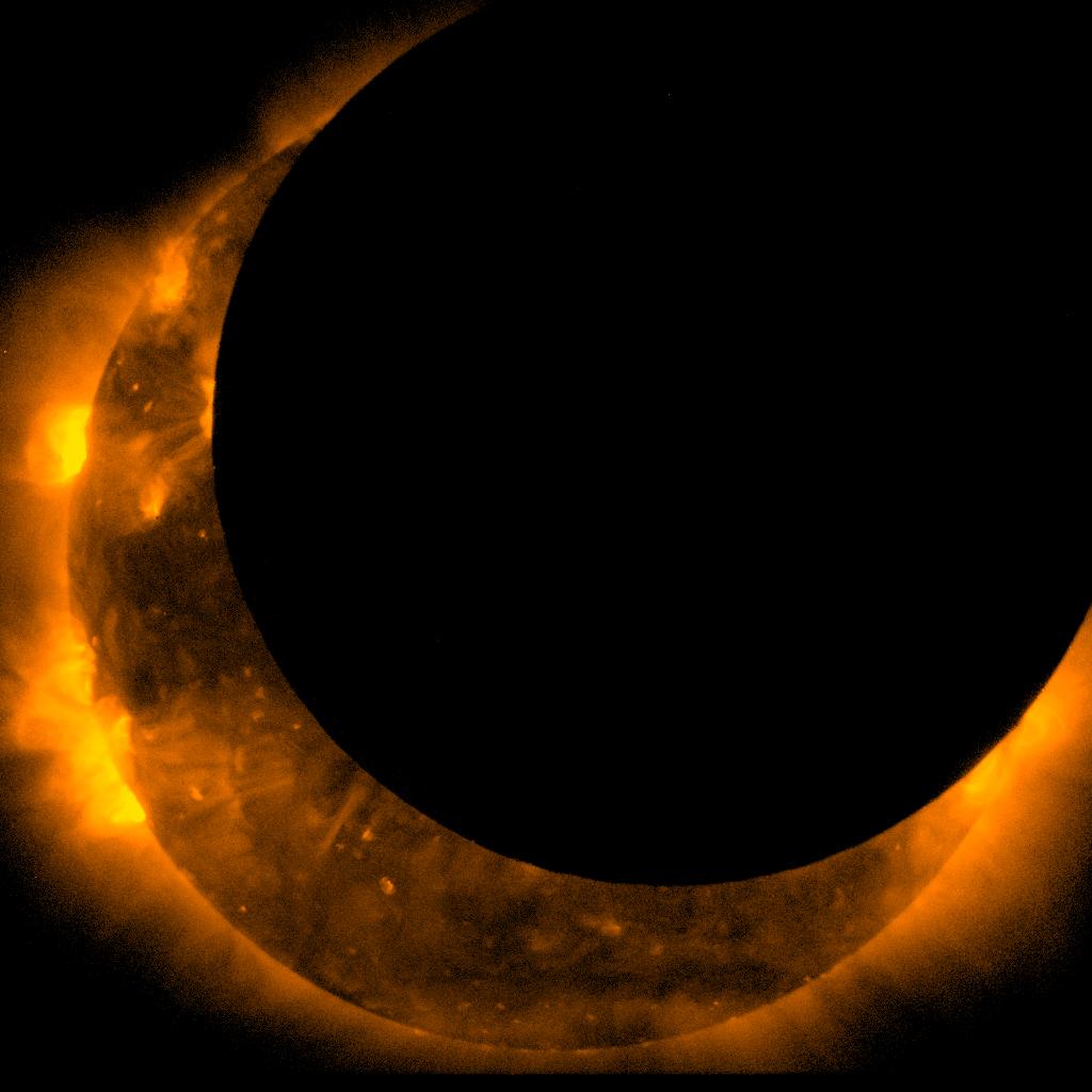 Annular Solar Eclipse Maximum - Hinode Satellite