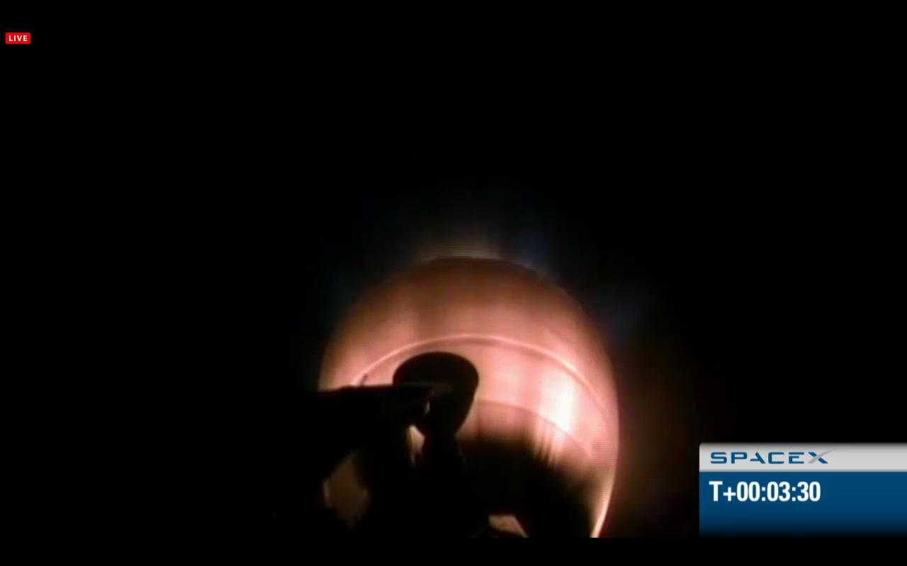 SpaceX Falcon 9 Second Stage Engine