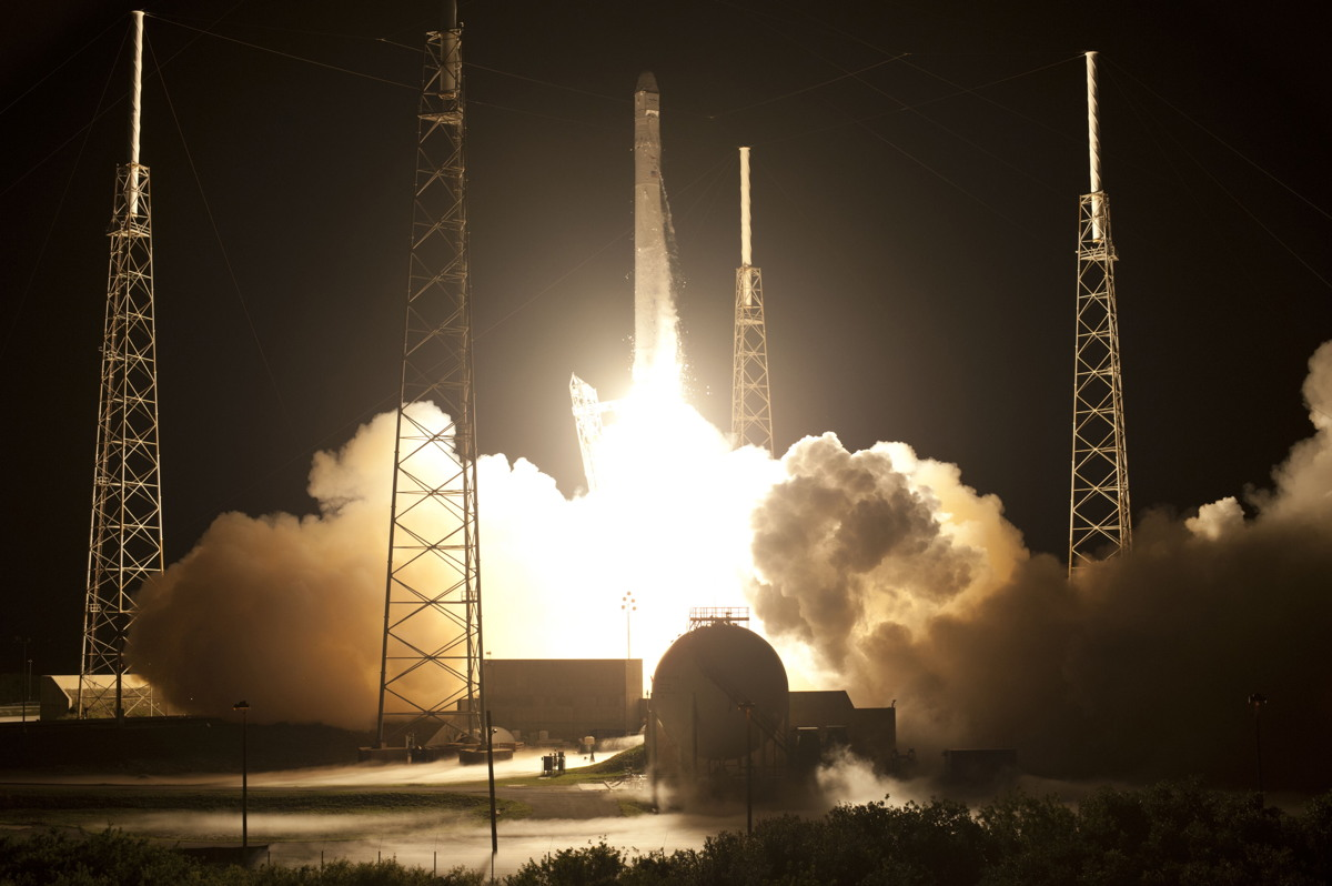 SpaceX's Falcon 9 Rocket Launches