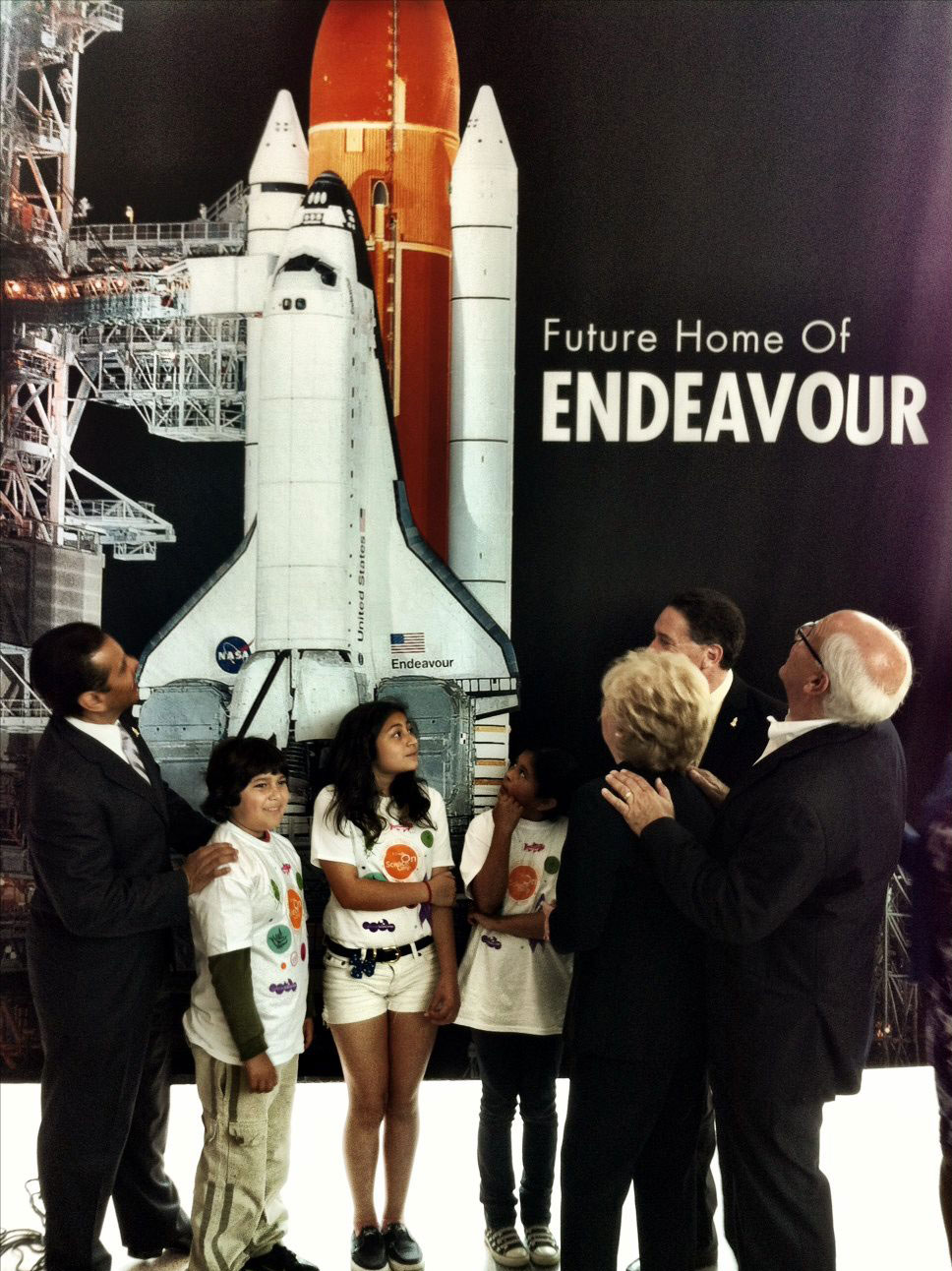 California Science Center Names Shuttle Endeavour Wing After Samuel Oschin
