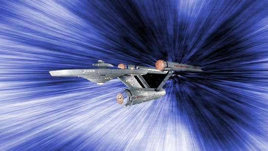 Star Trek's faster-than-light warp drive is an idea that even serious scientists don't want to let go of.