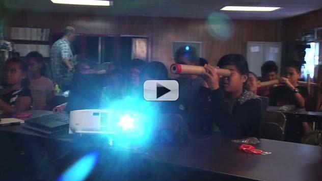 Venus Transit Enthralls Hawaiian School Children | Video