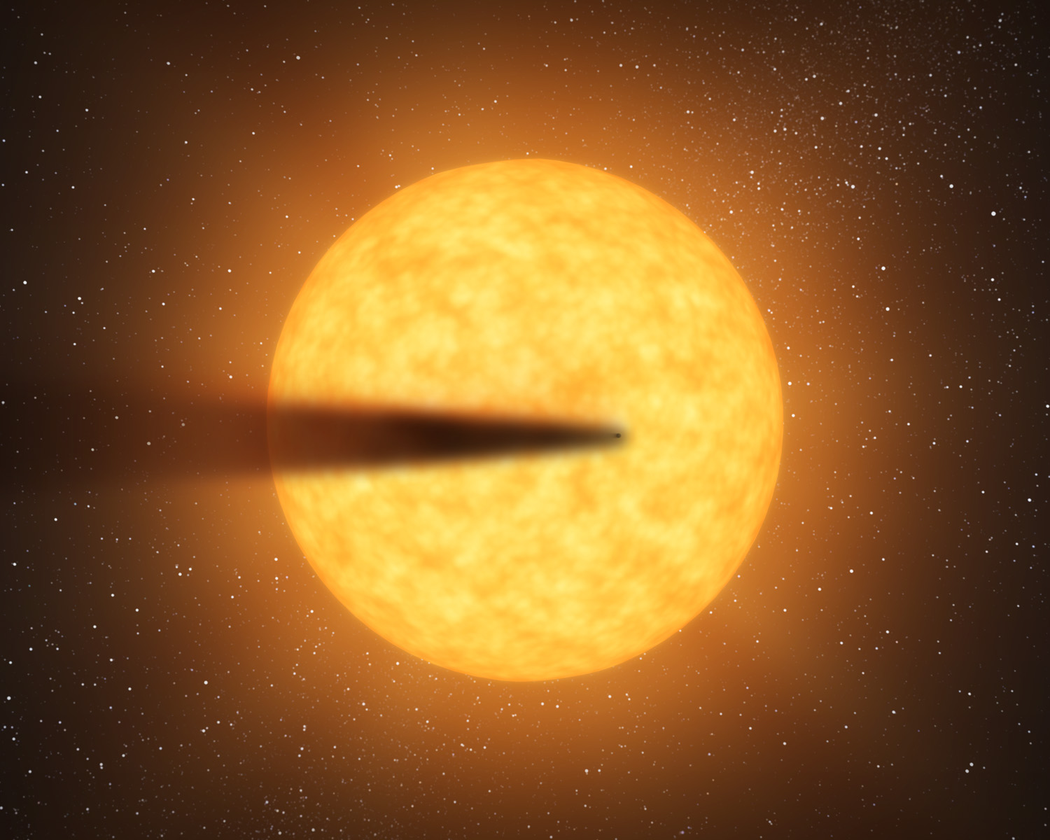 Disintegrating Alien Planet Has Comet-Like Tail