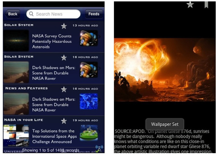 NASA Launches Upgraded iPhone App