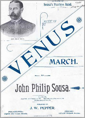 John Philip Sousa's Venus Transit March