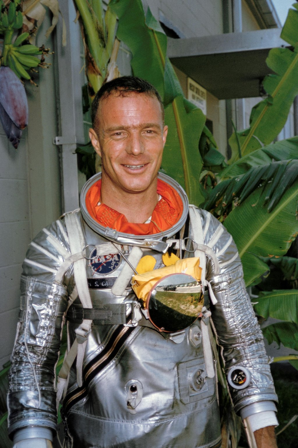 Astronaut Scott Carpenter in a Pressure Suit