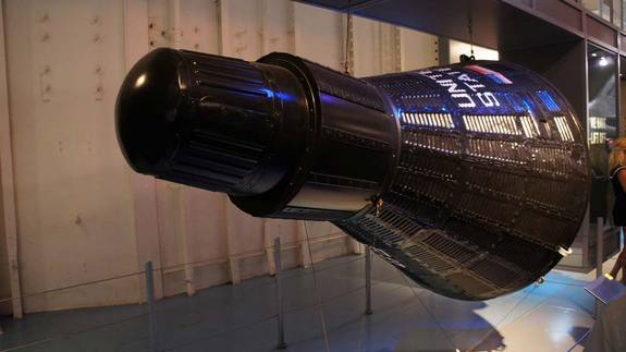 The Aurora 7 spacecraft that carried NASA astronaut Scott Carpenter into space on May 24, 1962.