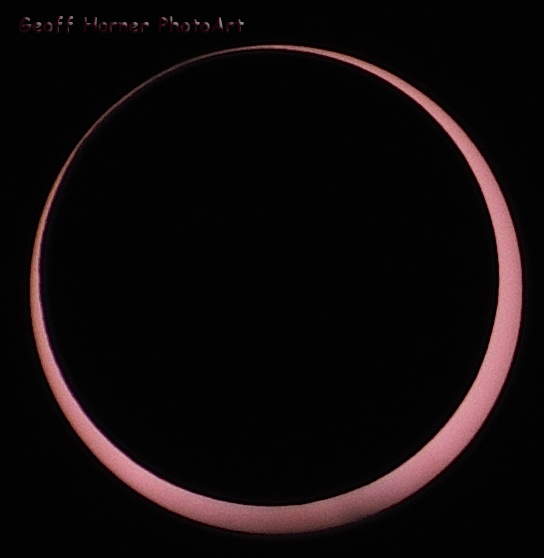 May 20 Annular Solar Eclipse from Zion National Park