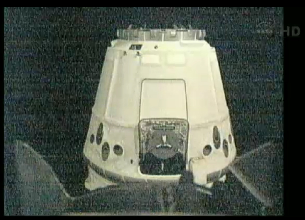 Dragon Closing in on International Space Station