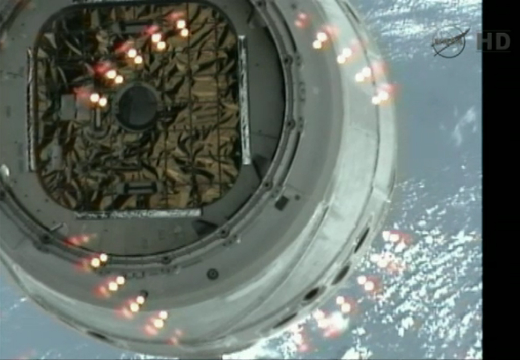 Dragon's Hatch Visible