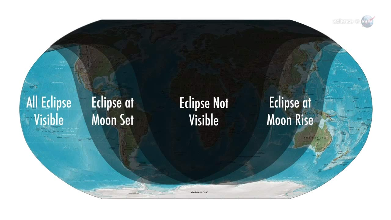 Partial Lunar Eclipse Monday Sets Stage for Venus Transit