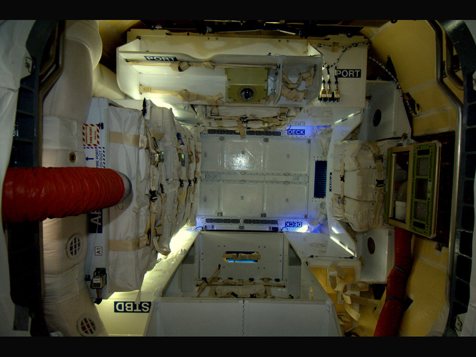 Inside the Dragon Capsule