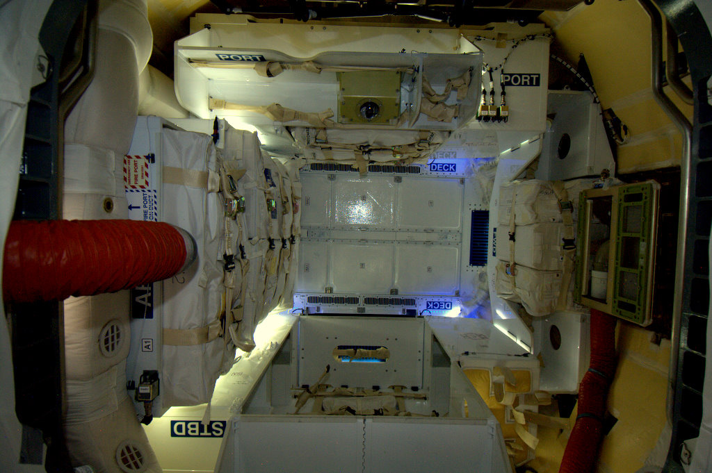 Inside of the Dragon Module
