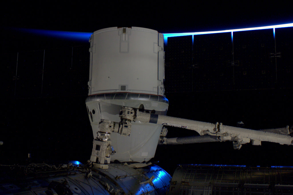 SpaceX Dragon Attaches to the ISS